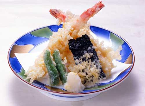 天ぷら盛合 980円