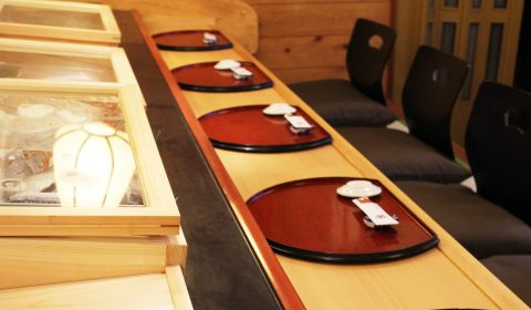 カウンター、寿司、松阪、富田屋