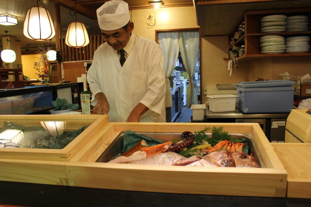 松阪、寿司、カウンター